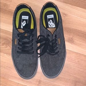 Vans ortholite gray sneakers size 10 GUC